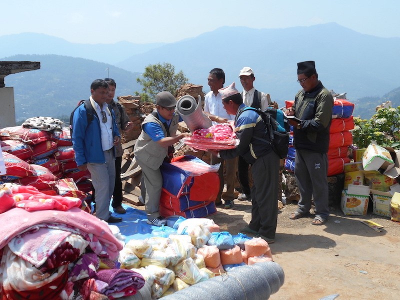 Nepal Update: Rebuilding the Waste Places